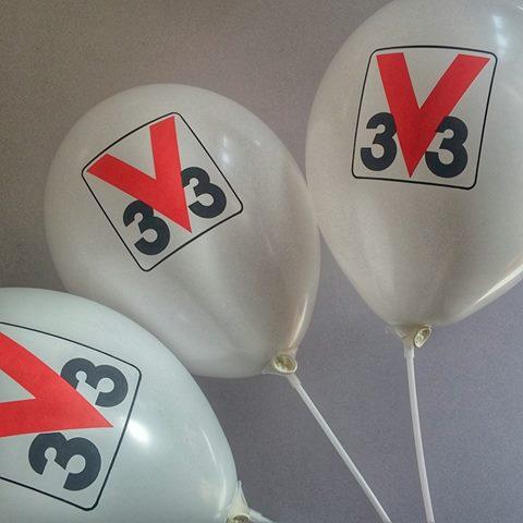 Balony dla V33 Polska